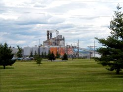 Photo of a U.S. Paper Mill